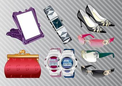 free vector Fashion Accessories