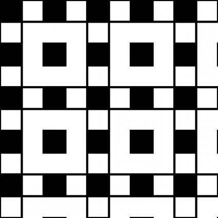 Squares Assyrian 1 Pattern clip art