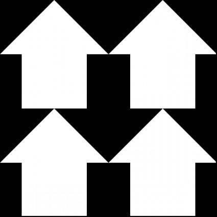 Arrows Reverse 1 Pattern clip art