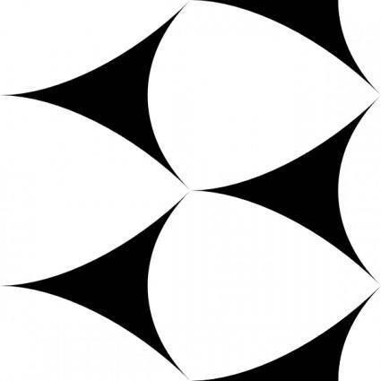 Deltoids Tile clip art