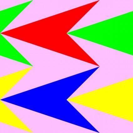 free vector Arrow Heads 3 Pattern clip art