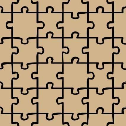 Jigsaw 2 Pattern clip art