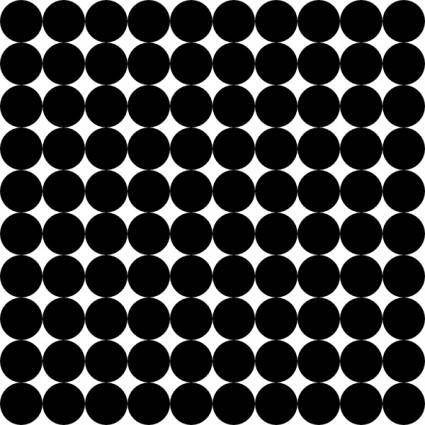 Dots Square Grid 10 Pattern clip art