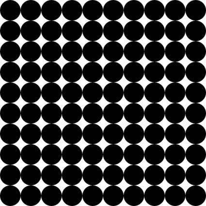 Dots Square Grid 10 Pattern clip art
