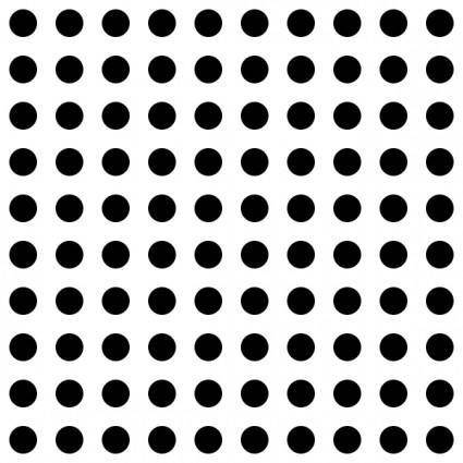 Dots Square Grid 06 Pattern clip art