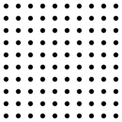 Dots Square Grid 04 Pattern clip art