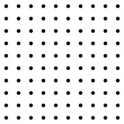 Dots Square Grid 03 Pattern clip art