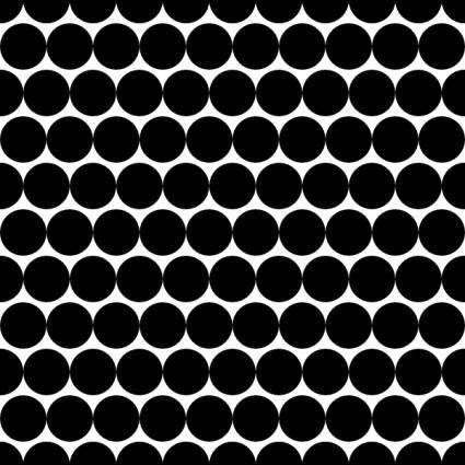 free vector Dots Offset Radius 5 Pattern clip art