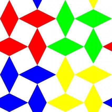 Diamond Squares 3 Pattern clip art