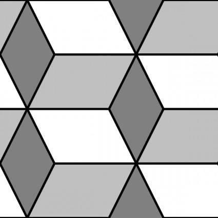 free vector Diamond Cubes 1 Pattern clip art