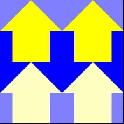 Arrows Reverse 4 Pattern clip art