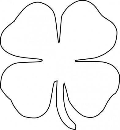 free vector Four Leaf Clover