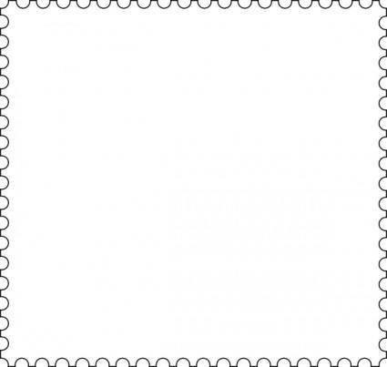 Stamp Frame clip art