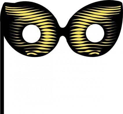 free vector Venetian Mask clip art