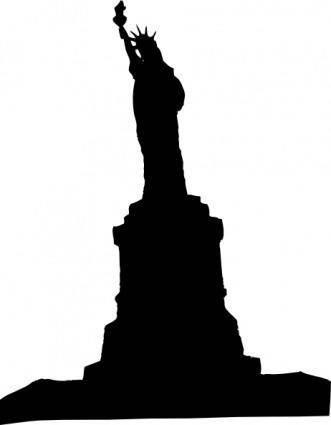 free vector Statue Liberty 1 clip art