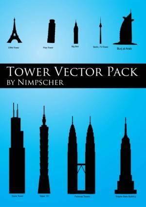 free vector Skyscraper Vector Pack