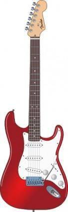 free vector Stratocaster clip art
