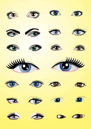 free vector Eyes Pack