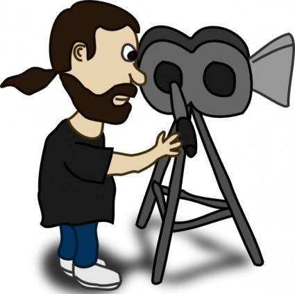 Comic Characters Filmmaker clip art