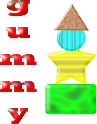 Gummy clip art