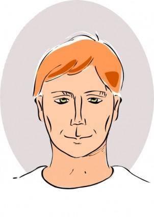 Man Head clip art