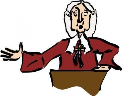 Judge  clip art