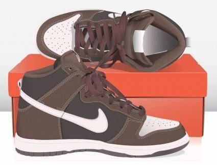 free vector Nike Basket Shoes