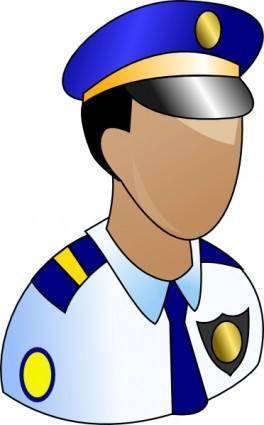 Policeman clip art