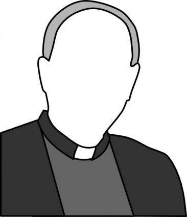free vector Priest clip art