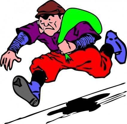 Burgular Robber Theif clip art