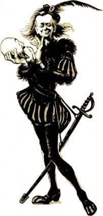 Hamlet clip art