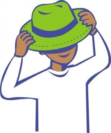 free vector Hat Clothing clip art
