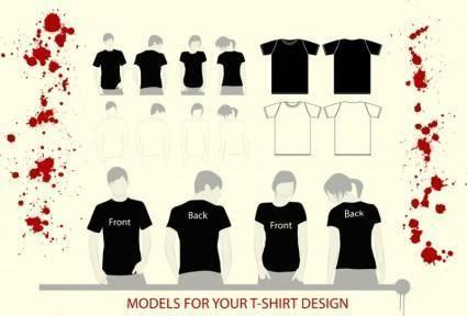 free vector T-Shirt Illustrations