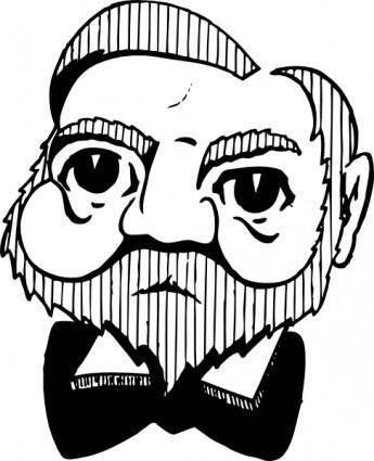 Andrew Carnegie clip art