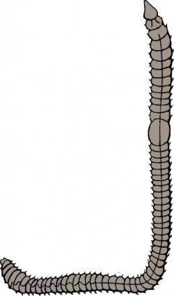 Earth Worm clip art