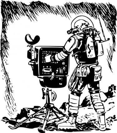 free vector Valessiobrito Space Pioneers clip art