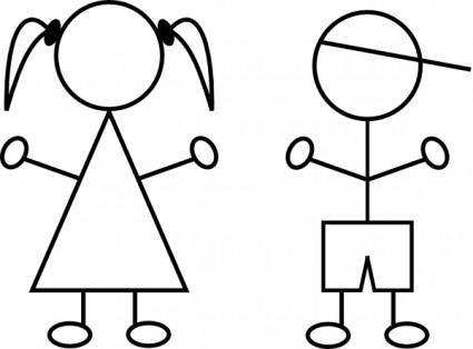 free vector Kids clip art