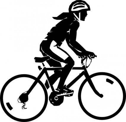 free vector Steren Bike Rider clip art
