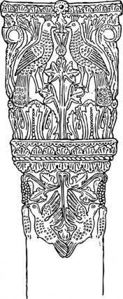 Italian Column clip art