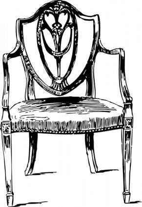 Furniture Antique Chair clip art