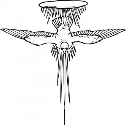 free vector Holy Spirit clip art