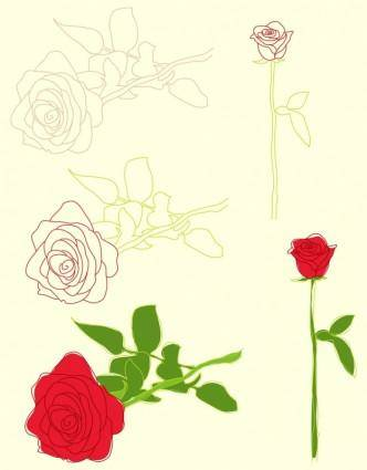 free vector Roses Illustrations