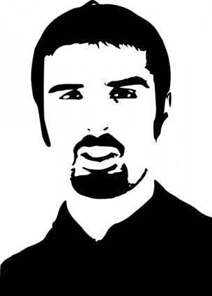 free vector Ali Esbati clip art