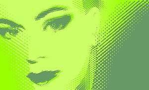 free vector Woman39s face vector