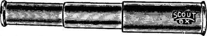 Telescope clip art