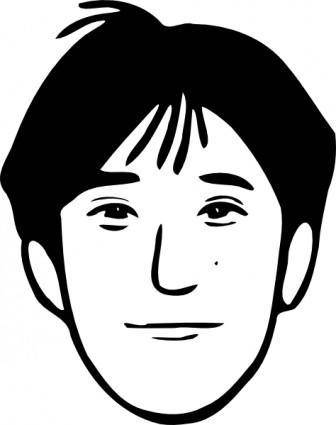 free vector Young Man clip art