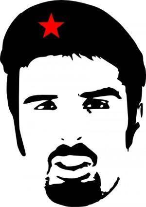 free vector Ali Esbati As Che Guevara clip art