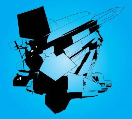 free vector Space Shuttle Graphics