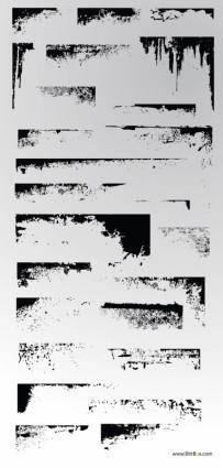 free vector Vector Grunge Art