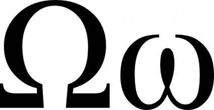 Omega Uc Lc clip art